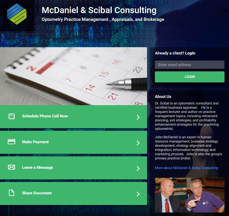 John Scibal Clients' Portal