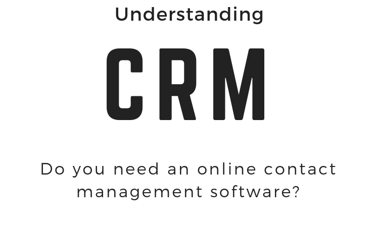 Online contact management software