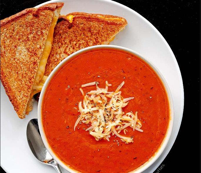 tomato soup vcita