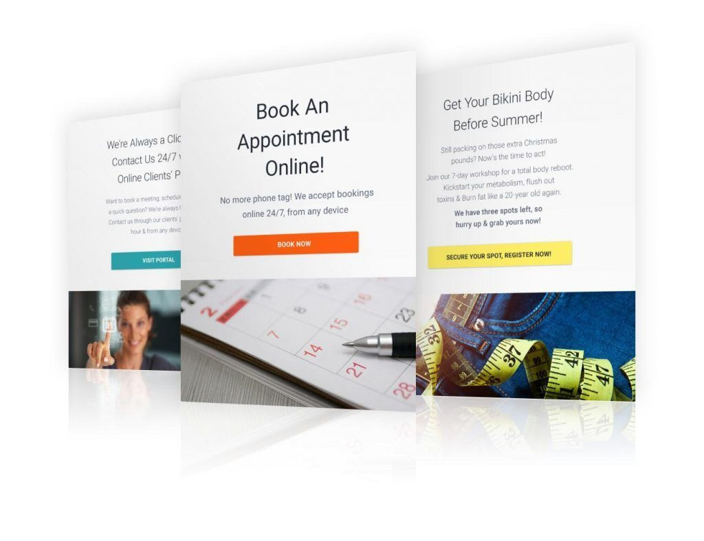 New easy email marketing templates
