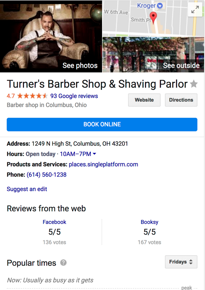 """Add a """"book now"""" button to your Google My Business profile"""