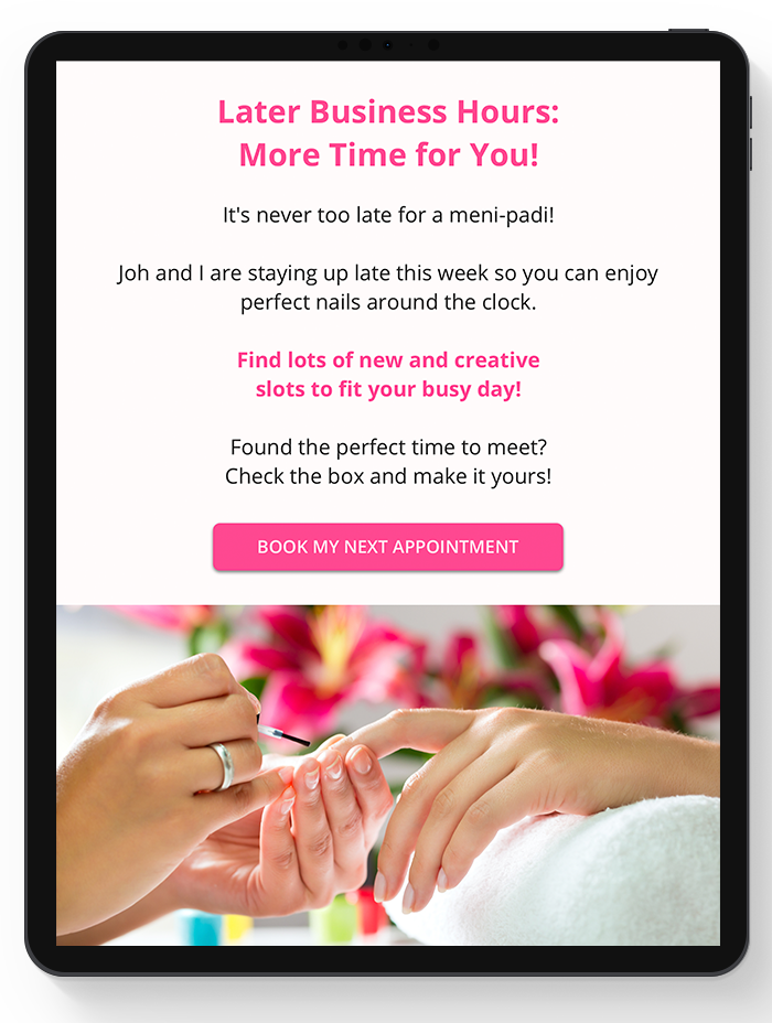 Email marketing campaigns by vcita