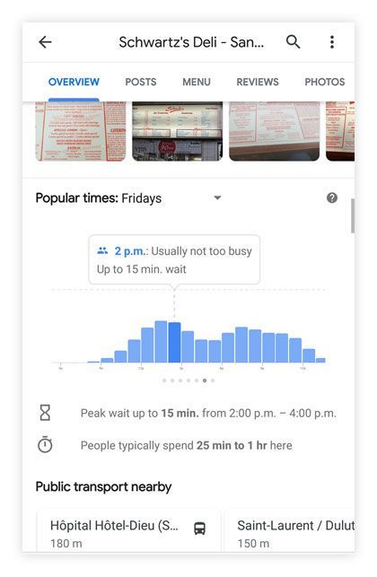 Google Maps tips: Find great food options on route