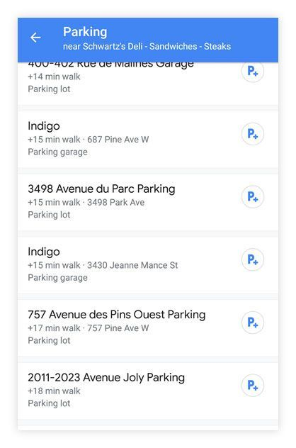 Google maps tips: Find available parking spots