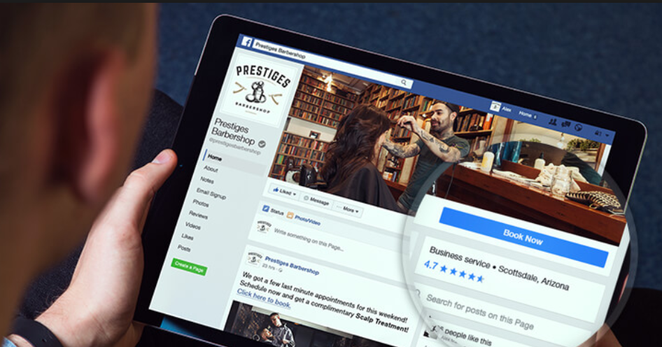 """How to add a """"book now"""" button to your Facebook page"""