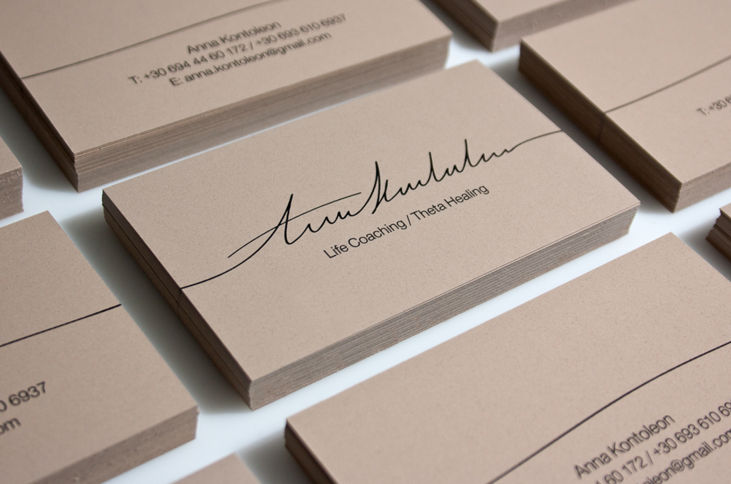 lifecoaching business cards