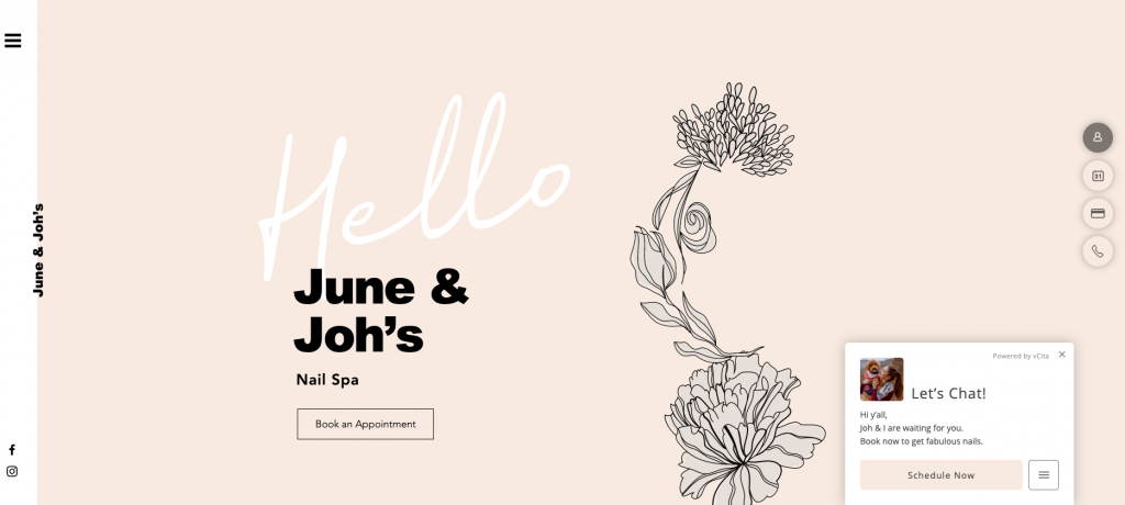 salon booking june and joh