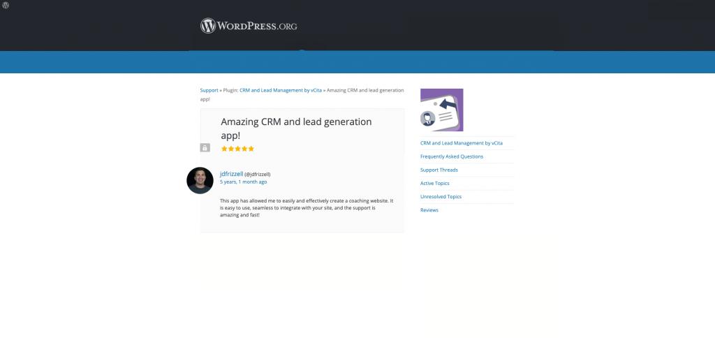 crm client management plugin
