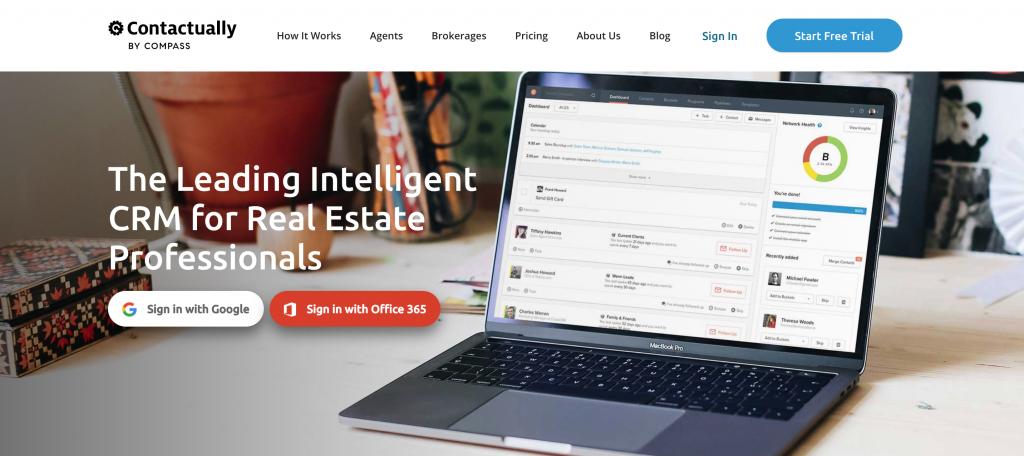 contactually crm real estate