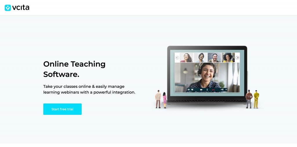 vcita online teaching platform