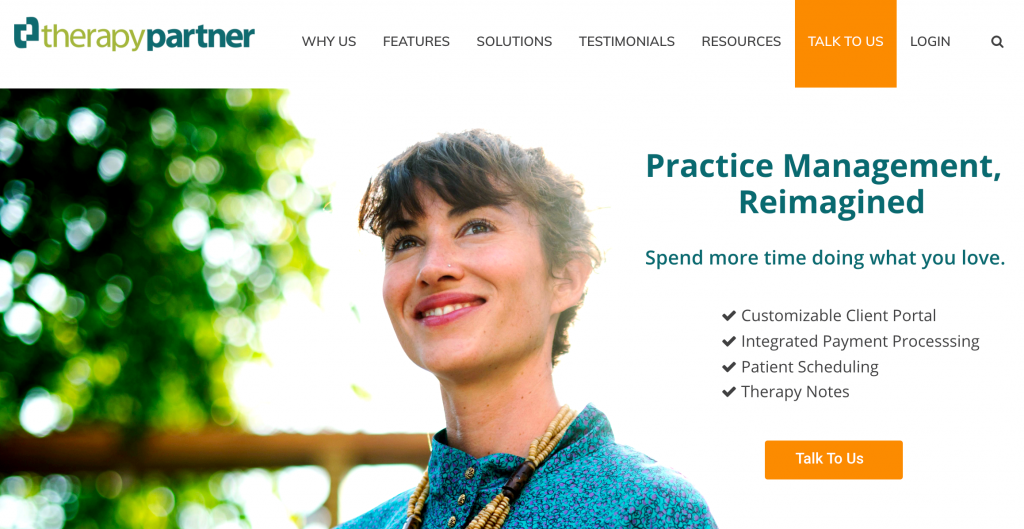 practise management therapy software
