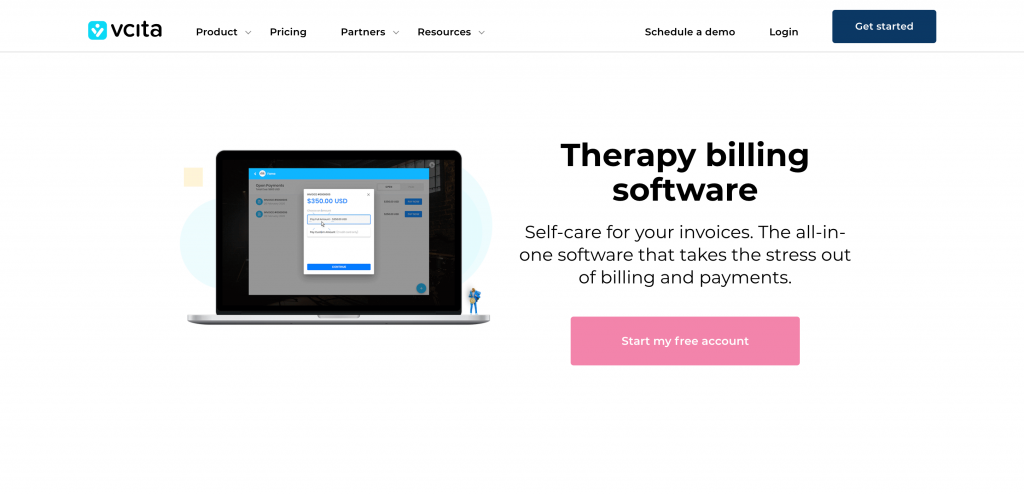 vcita therapy software