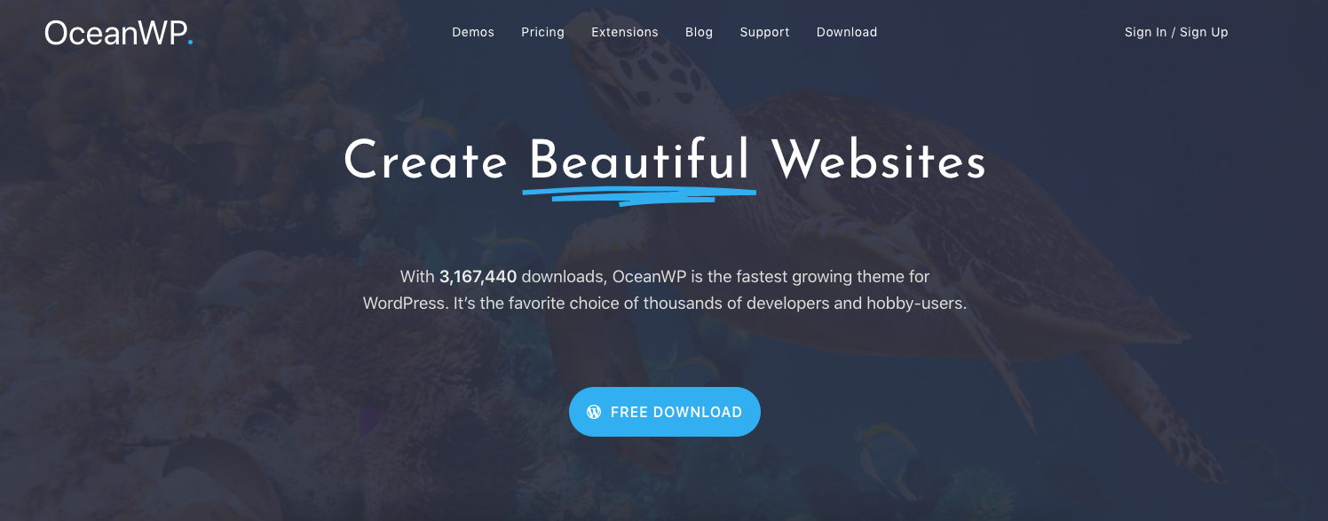 ocean wp theme for real estate