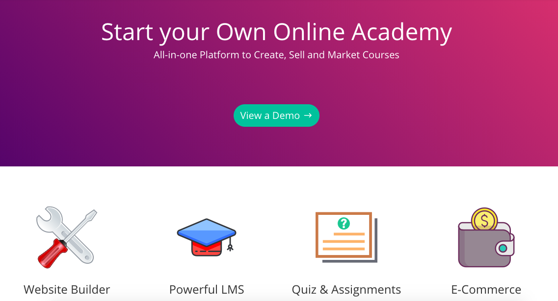 academy of mine online teaching platform