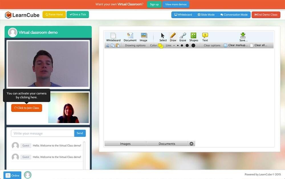 learncube teaching platform